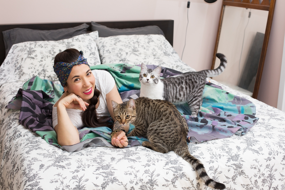 Purrfect Portraiture: Girls and Their Cats by Photographer BriAnne Wills